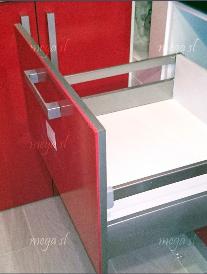 Cajón gavetero de mueble de cocina