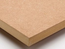 Tablero en MDF (medium density fiberboard)