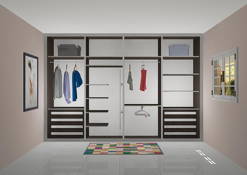 Vestir un armario empotrado interesting montar las - Vestir un armario ...