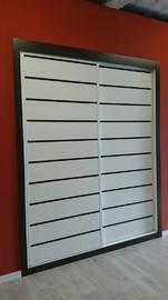 Frente de armario de puertas correderas modelo Lineas