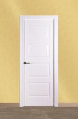 Puerta vidriera lacada modelo Lac F4C