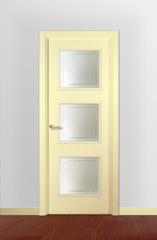 Puerta vidriera lacada modelo Lac F3C V3