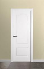 Puerta ciega lacada modelo Lac F2 Provenzal