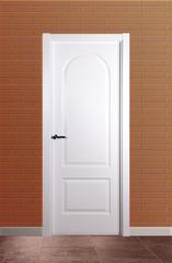 Puerta ciega lacada modelo Lac 1/2 punto