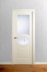 Puerta vidriera lacada modelo Lac F3D V