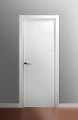 Puerta Ciega lacada en blanco modelo Lac Tetris