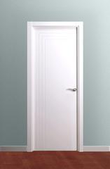 Puerta ciega lacada en blanco modelo Lac Toledo